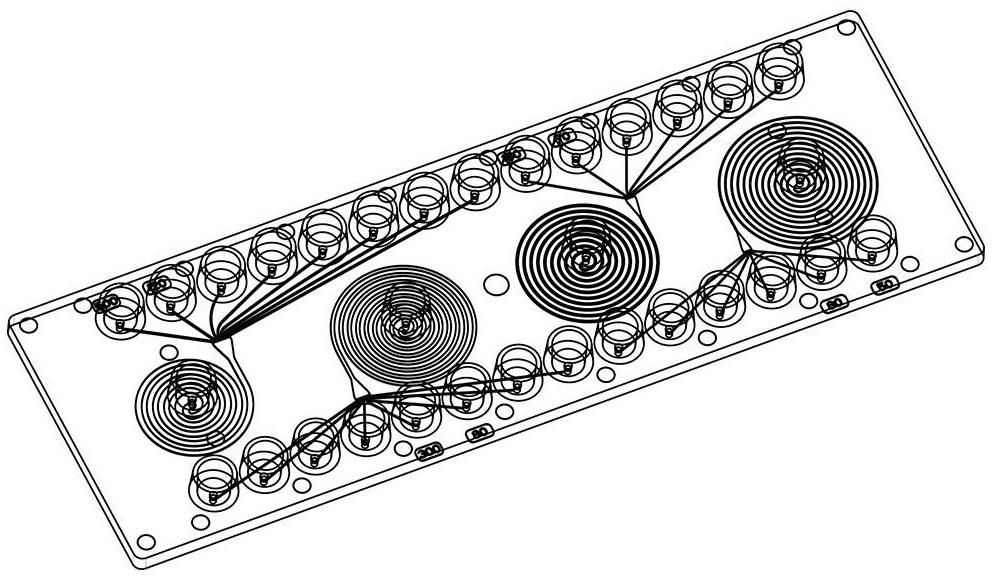 微流控颗粒&细胞螺旋分选芯片