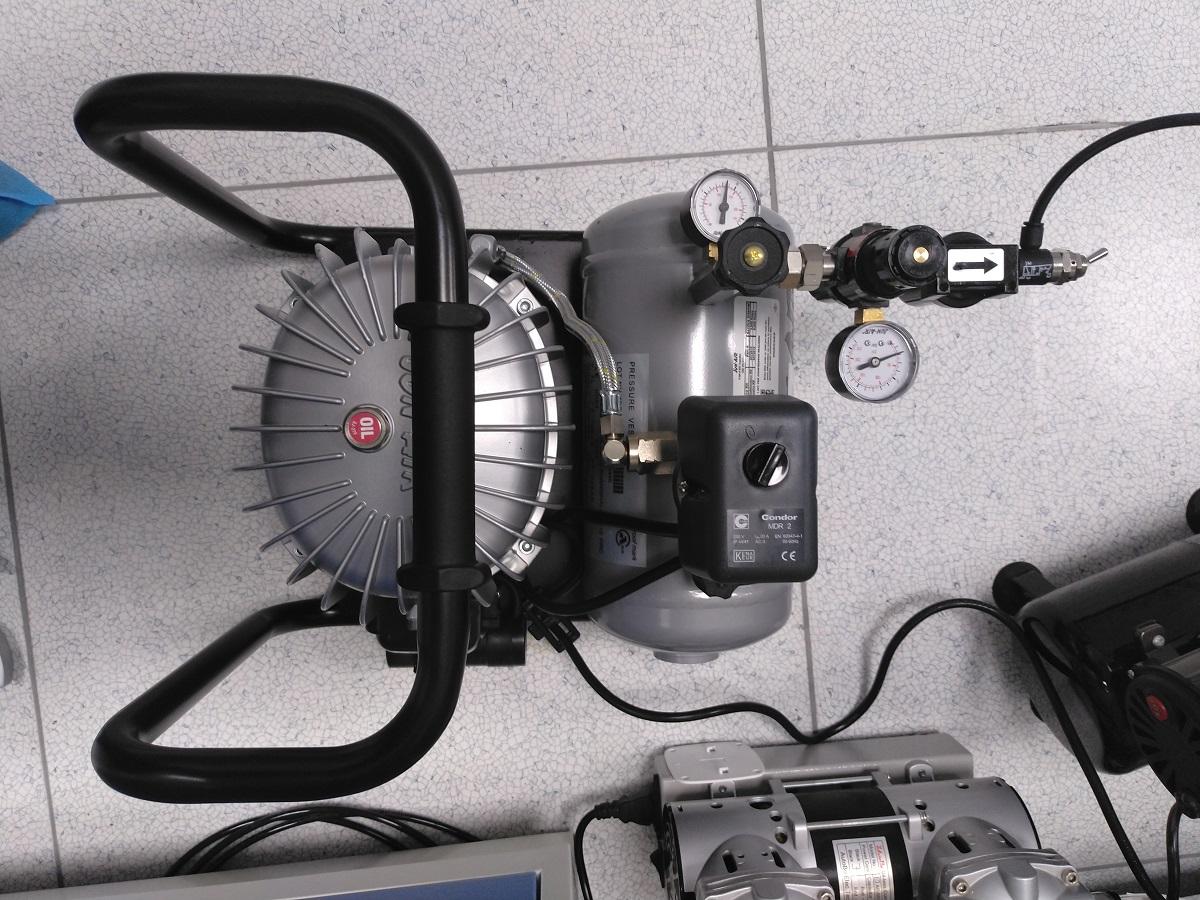 超静音空气压缩机和真空泵