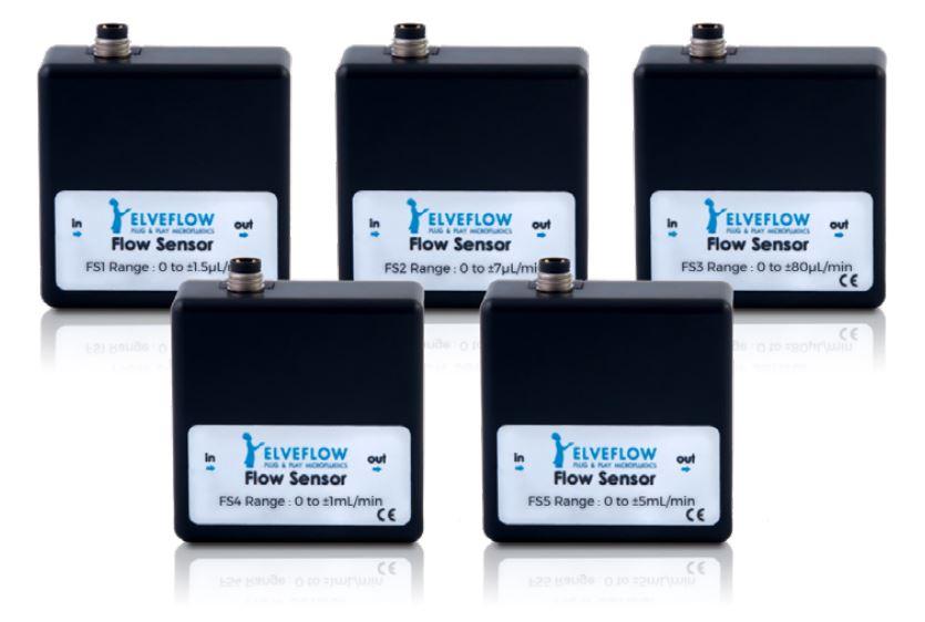微流体热式数字流量传感器MFS