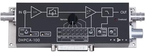 DHPCA-100低噪声可变增益电流放大器