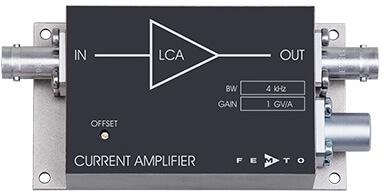 LCA系列固定增益低噪声电流放大器