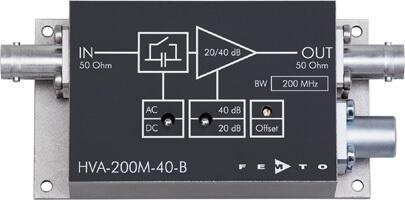 HVA系列带宽电压放大器