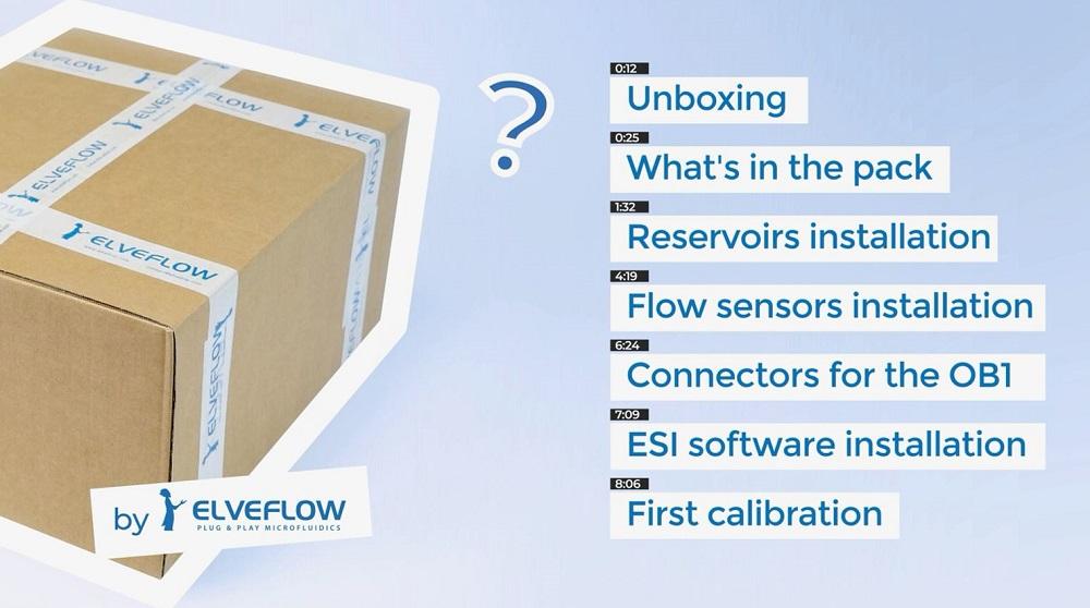 微流体压力控制器OB1的开箱安装及ESI软件的安装与首次校准