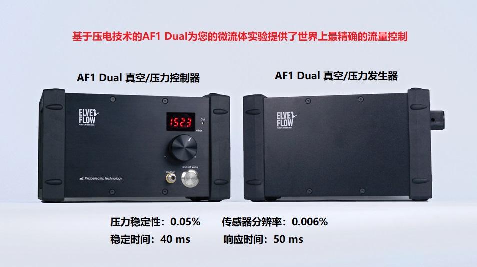 AF1 DUAL微流体压力&真空泵:微型便携移动