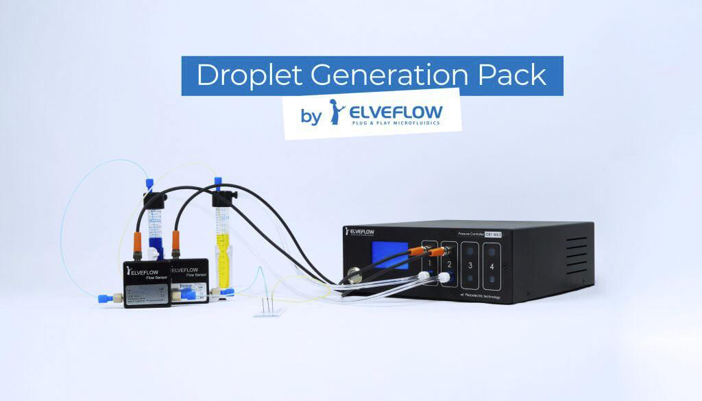微流控液滴产生套装-开箱即用&包含全部组件