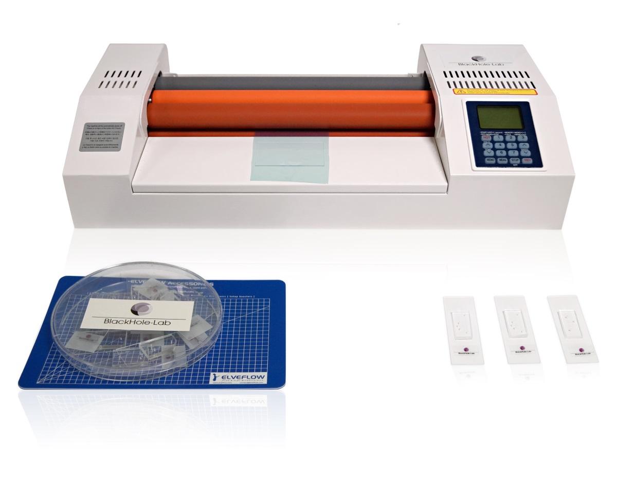 用于微流控软光刻的干膜层压工作站