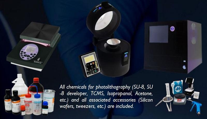 一站式微流控SU8模具加工工作站